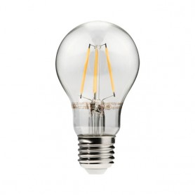 LED filament lamp E27 6W 750Lm K2700 warmwhite