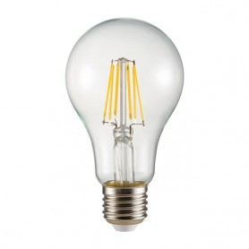 LED filament lamp E27 8W 1000Lm K2700 warmwhite