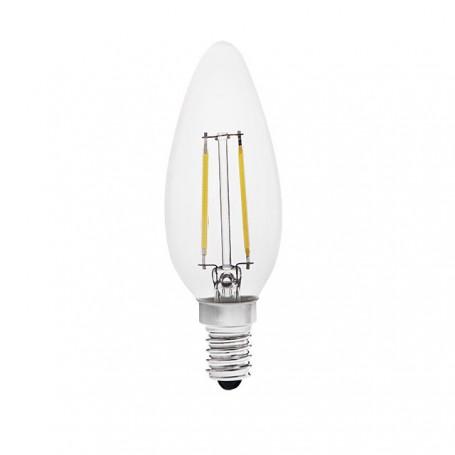 LED E14 candlebulb 2W-230Lm - 4W 400Lm K2700