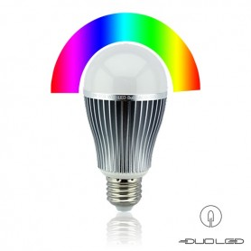 LED E27 bulb RGBW 9W 2.4Ghz RF WIFI