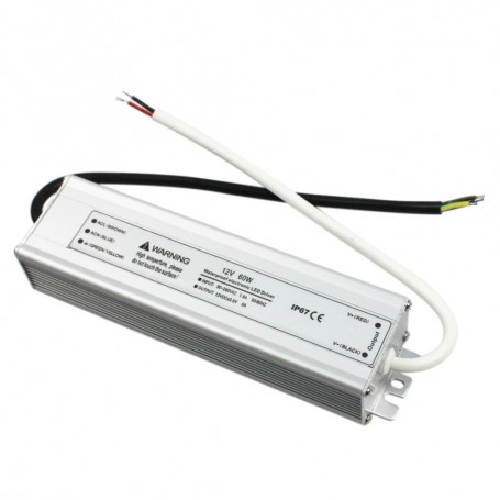 LED power supply 60-72W 12V IP65