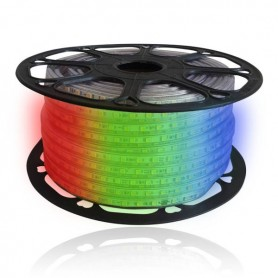 LED Strip 230V 14.4W/m RGB IP65 60LED/m