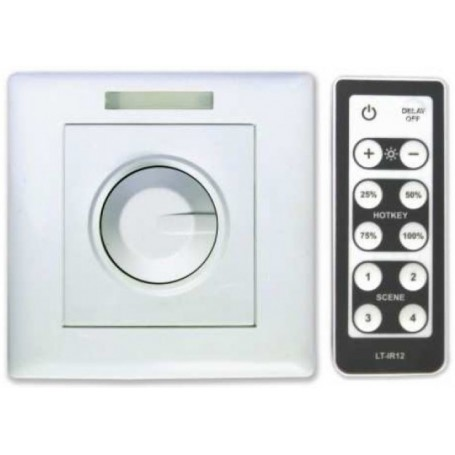 LED dimmer 0-10V with remote control