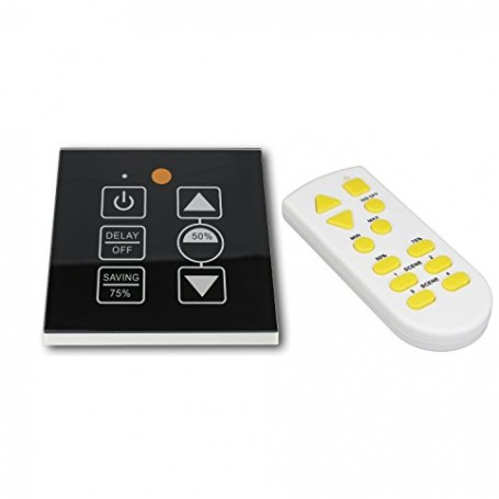 LED Touchpanel Dimmer 0-10V mit Fernbedienung