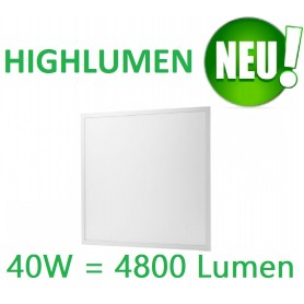 LED Panel EPISTAR 62x62cm 40W Highlumen white