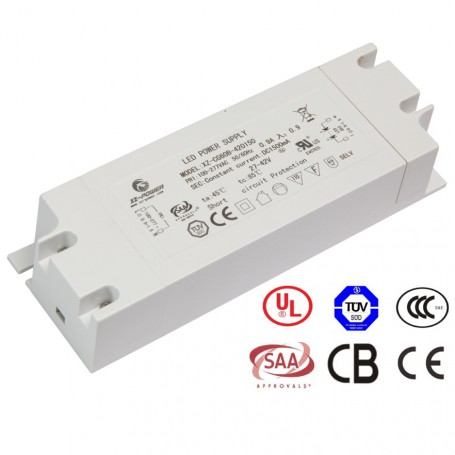 Flickerfree LED power supply constant current 900/1050m