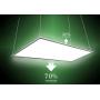 LED Panel EPISTAR 62x62cm 48W 4400Lm K4000 doubleside