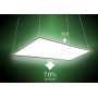 LED Panel 30x120cm 48W weiss Doppelseitig