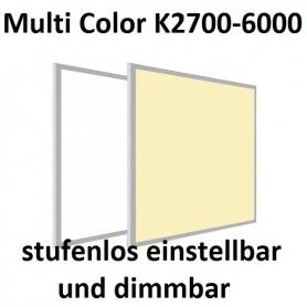 LED Panel Multicolor CCT 60x60cm 36W