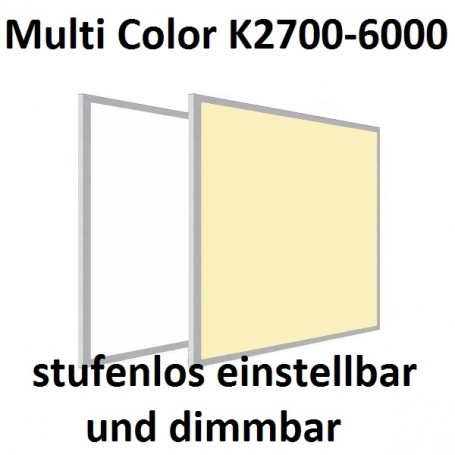 LED Panel Multicolor CCT 60x60cm 36W
