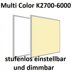 LED Panel Multicolor CCT 60x120cm 50W