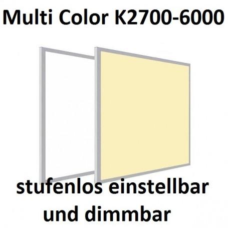 LED Panel Multicolor CCT 60x120cm 50W