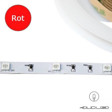LED Strip SMD5050 12V 7.2W/m rot IP20 30LED/m