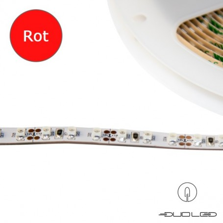 LED Strip SMD3528 12V 9.6W/m rot IP20 120LED/m