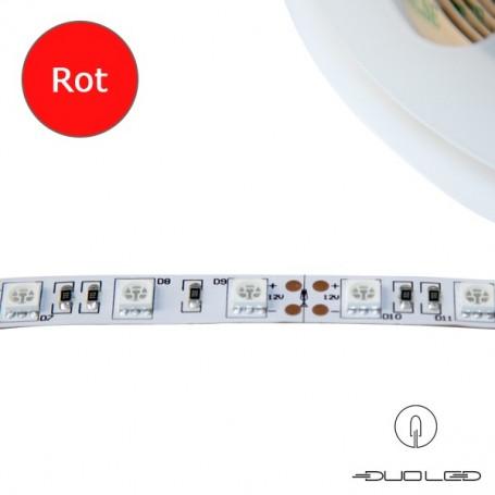 LED Strip SMD5050 12V 14.4W/m rot IP20 60LED/m