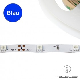 LED Strip SMD5050 12V 7.2W/m blau IP20 30LED/m