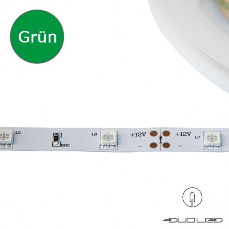 LED Strip SMD5050 12V 7.2W/m green IP20 30LED/m