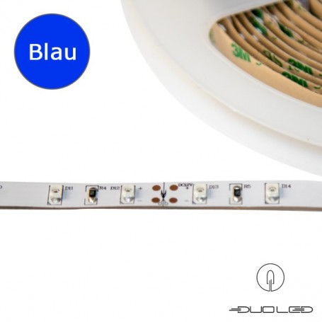 LED Strip SMD3528 12V 4.8W/m blau IP65 60LED/m