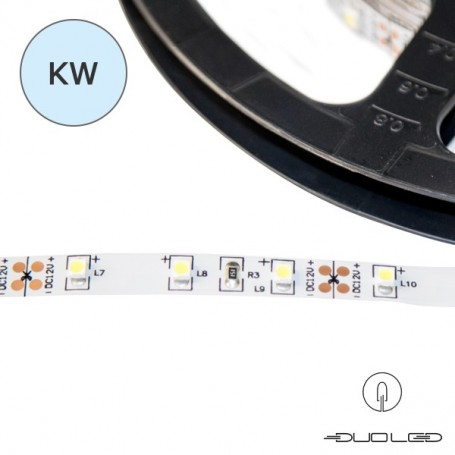 LED Strip SMD3528 12V 4.8W/m K6000 IP65 60LED/m