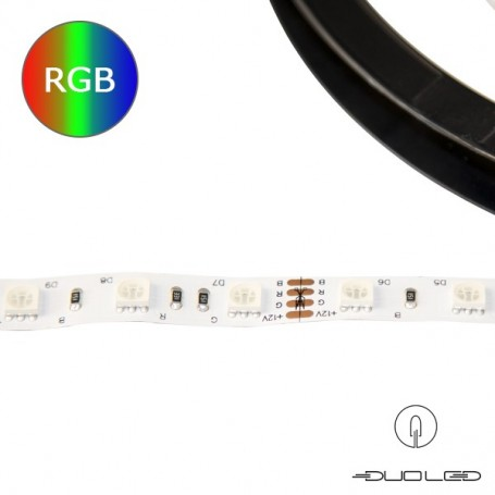 LED Strip SMD5050 12V 14.4W/m RGB IP65 60LED/m