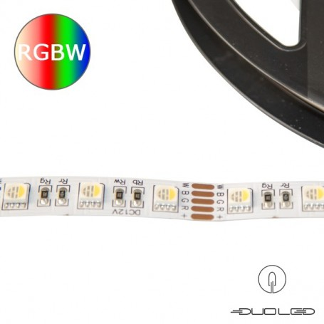 LED Strip SMD5050 12V 15W/m RGB+K4000 IP20 60LED/m