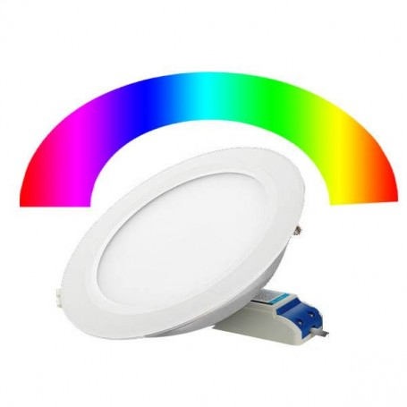 LED panelФ190mm 15W IP54 RGB+CCT 2.4Ghz WIFI