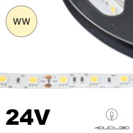 LED Strip SMD5050 24V 14.4W/m K3000 IP20 60LED/m