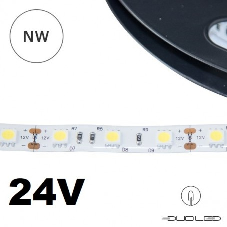 LED Strip SMD5050 24V 14.4W/m K4000 IP20 60LED/m
