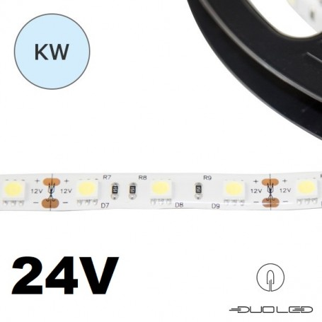 LED Strip SMD5050 24V 14.4W/m K6000 IP20 60LED/m