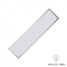 LLL LED Panel 30x120cm 40W silber LIFUD