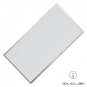 LLL LED Panel 60x120cm 60W silber LIFUD