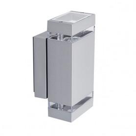 LED Up/Down Außen-Wandleuchte GU10 J-GR