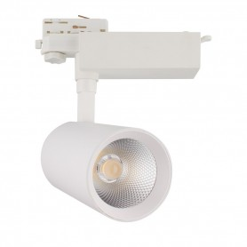 LED tracklight COB 30W 2400Lm K3000-4000-6000