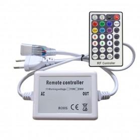 230V LED Strip RGB RF-Controller mit RF-Fernbedienung