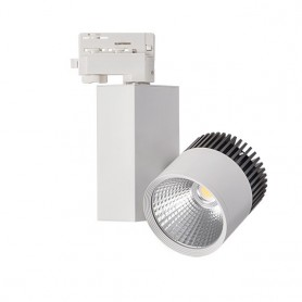 LED tracklight 20W 1590Lm COB K4000