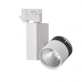 LED tracklight 20W 1590Lm COB K4000