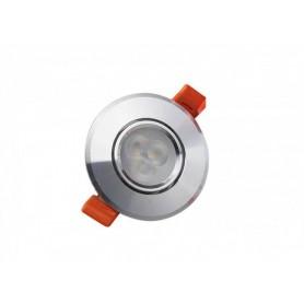 LED Spot Ф70mm 3W K3000-4000 silber