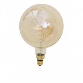 LED E27 Deco-Globe 4W K2200 amber Ф20x28cm