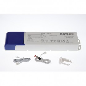 EMERGENCY-POWER BATTERY KIT for constant current operated LED lights