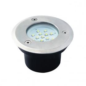 LED Bodeneinbaustrahler Gordo 0.7W K6000