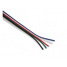 RGBW Kabel 5-adrig