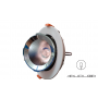 LED Downlight rotable Ф165mm 20W 1700Lm K3000-K4000