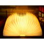 LED faltbare Buchleuchte - 5 Farben , aufladbar