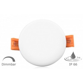 LED downlight round Ф75mm 6W K3000-4000 IP66 frameless
