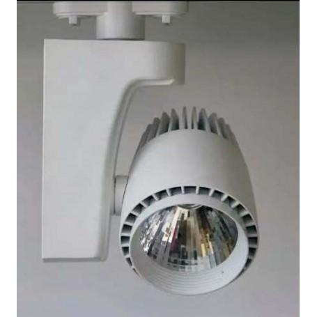 LED Schienenstrahler COB 20W 2000Lm K2700-4000