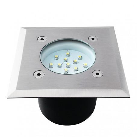 LED Bodeneinbaustrahler Gordo 0.7W K6000 eckig