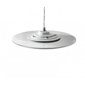 LED ceiling light clear Ø60cm 30W CCT dimmable 3000K-6500K