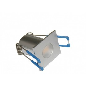 LED Mini Spot eckig 35mm 12V 1.5W K3000
