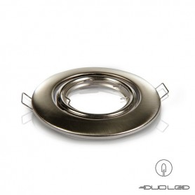 Einbaurahmen Basic Edelstahl rund schwenkbar Ø103mm