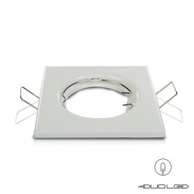 Mounting frame Basic white square 82x82mm
